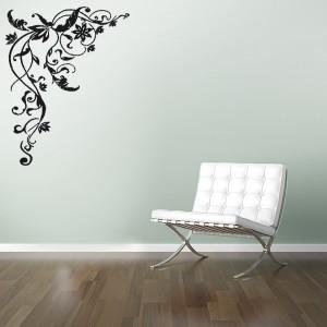 Lipdukas sienai - ornamentas - tattoo.