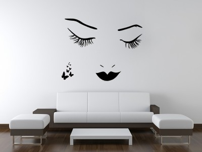 Užmerktos akys ant sienos