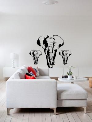 Lidukas - Drambliai ant sienos