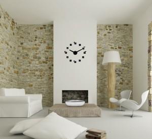 Laikrodis - lipdomas ant sienos