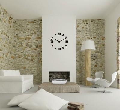 3D sieninis laikrodis - prilipdomas