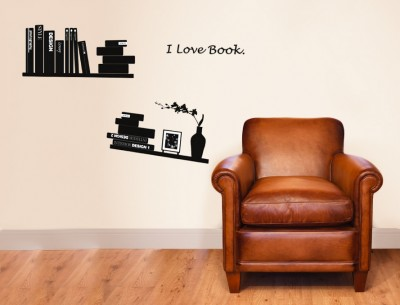 Prilipdomos knygų lentynos