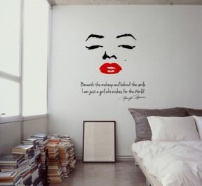 Marilyn veidas