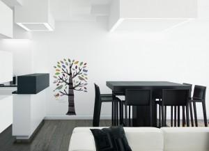 Medžiai - lipdukai sienoms