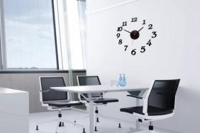 laikrodis lipdukas