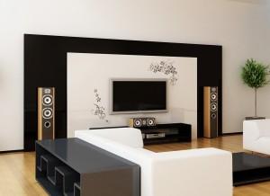 sienos-lipdukas-geliu-ornamentas