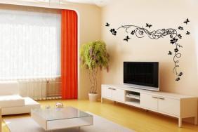 Geliu-ornamentas---sienu-lipdukai