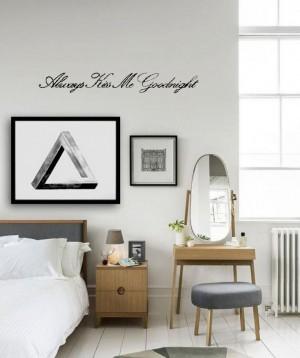 miegamojo sienų užrašai