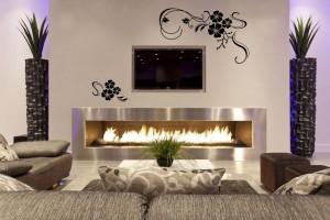 gėlių ornamentai - sienoms