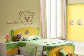 Mielas rudas meškiukas - lipdukas