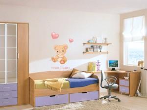 Lipdukas vaikų kambariui