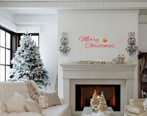Kalėdinės interjero dekoracijos