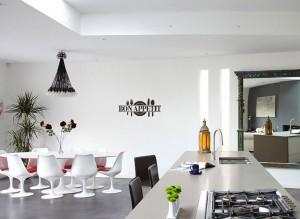 virtuvės sienų lipdukas
