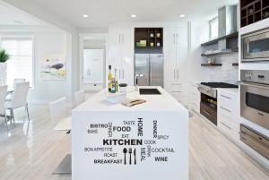 Lipdukai virtuvės interjerui