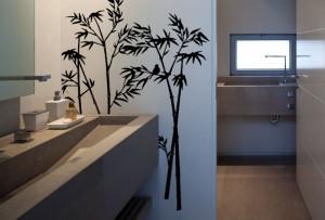 Bambukas - sienų lipdukas